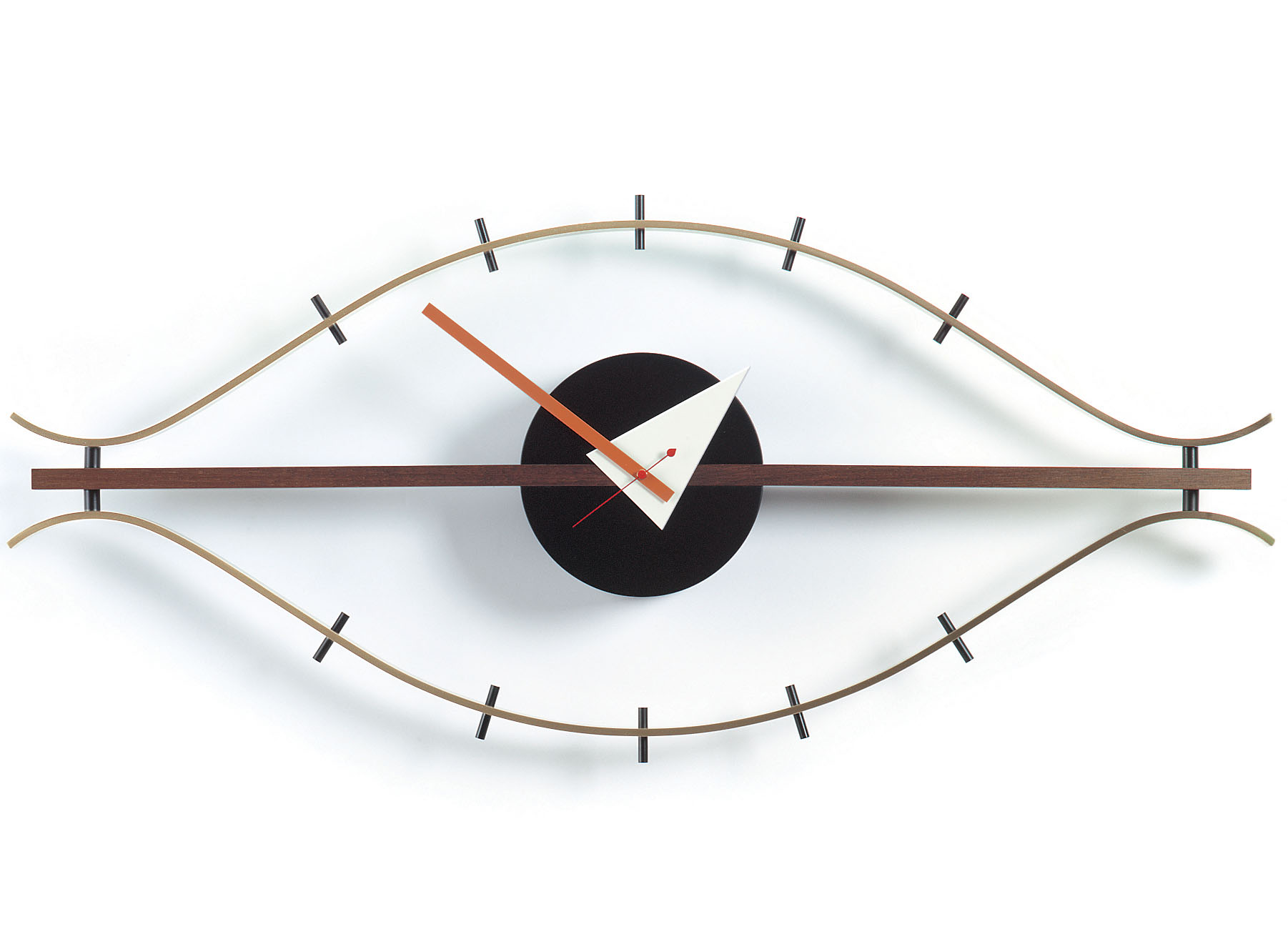 george nelson eye clock  design  vitra wall clocks  nova  - george nelson eye clock  design  vitra wall clocks