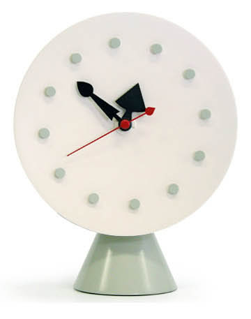 George Nelson: Cone Base Desktop Clock By Vitra