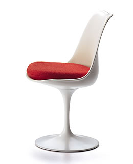 saarinen tulip chair. saarinen vitra miniature tulip chair 1956 t