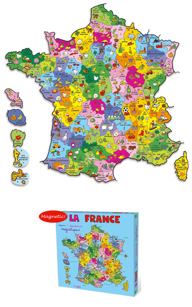 departments of france map. featuring Map of France.