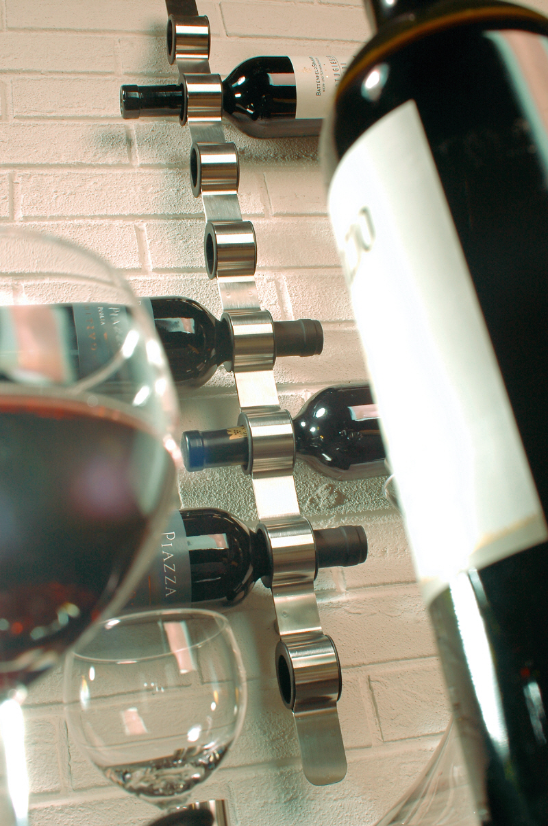 Blomus Cioso Modern Wall Mountable Wine Rack Nova68com