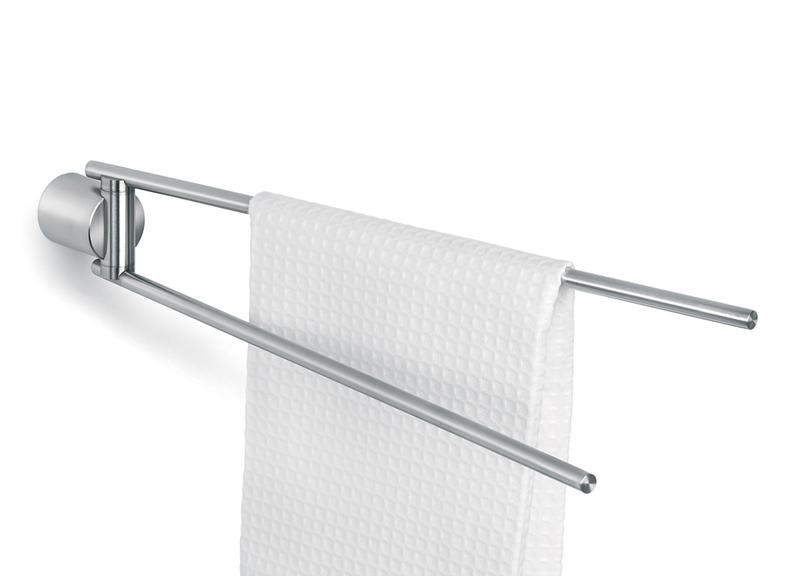 Bathroom Accessories Holder bathroom accessories: blomus duo towel rack holder double rail