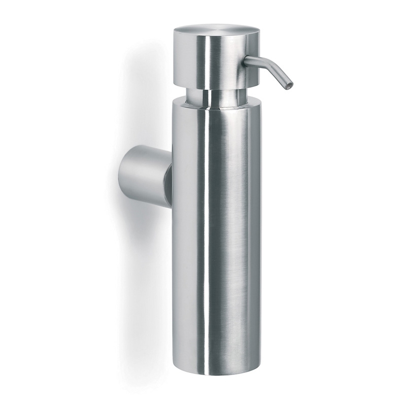 Bathroom Accessories Blomus Duo Wall Mounted Soap Dispenser Brushed