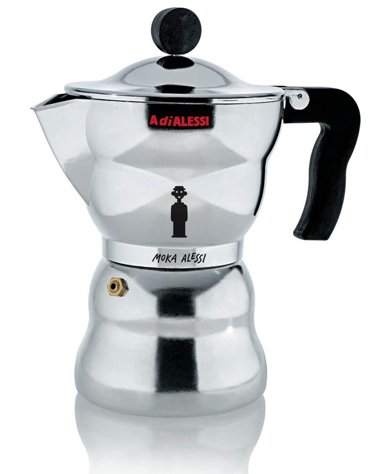 6 Cup Moka 10 5 Oz Italian Alessi Stovetop Espresso Maker Alessiaam336 64 00