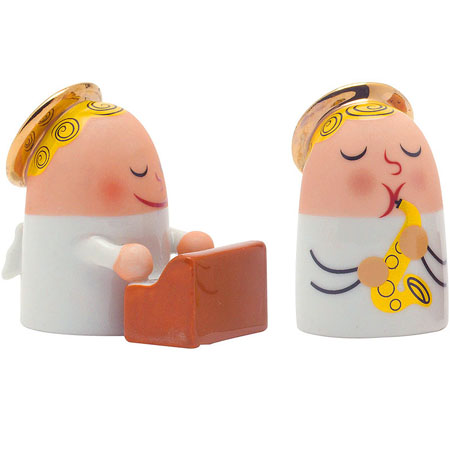Alessi Holiday Angels Band Figurines AMGI26SET2 | NOVA68 ...