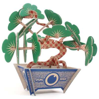 Unique Gift Ideas Flat Packaged Diy Bonsai Tree Kit