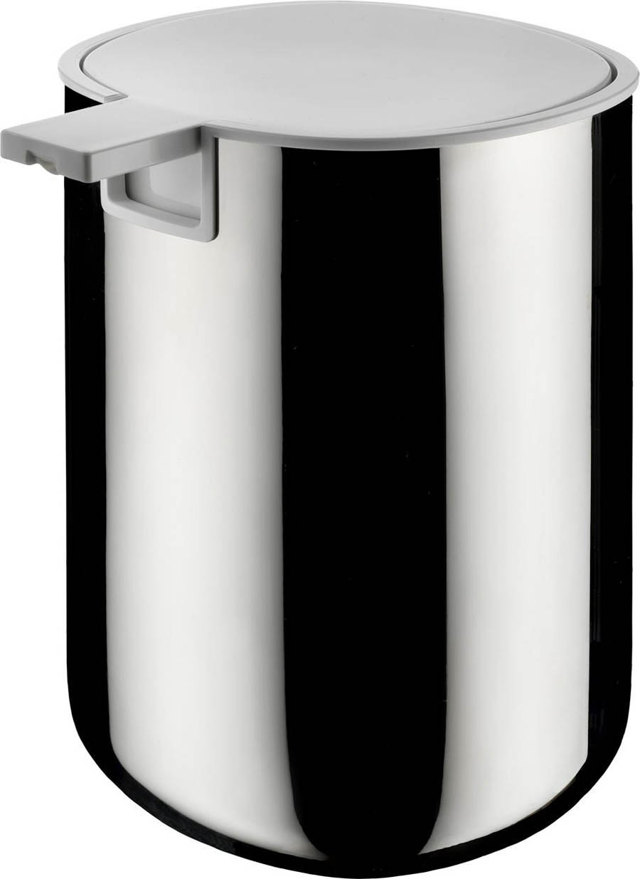 alessi birillo liquid soap dispenser stainless steel  pli  - alessi birillo liquid soap dispenser stainless steel  pli