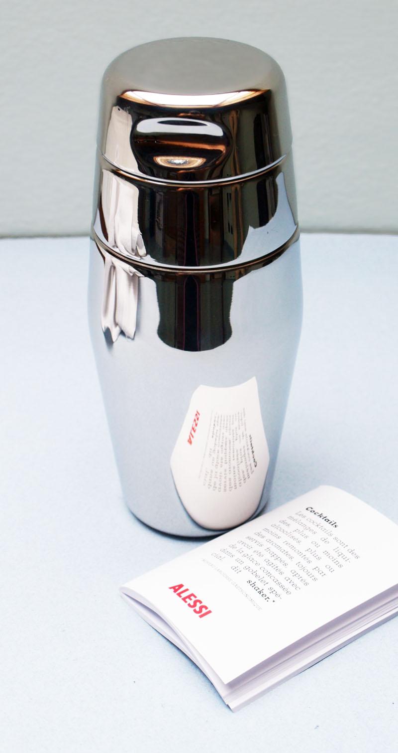 alessi stainless cocktail shaker mirror large l 870 50 nova68 modern design. Black Bedroom Furniture Sets. Home Design Ideas