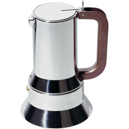Alessi 9090/6 Stovetop Espresso Coffee Maker 6 Cup NOVA68 Modern Design