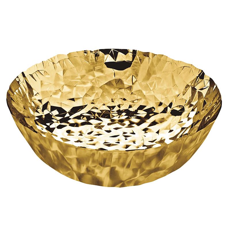 Alessi joy no gold centerpiece bowl by claudia