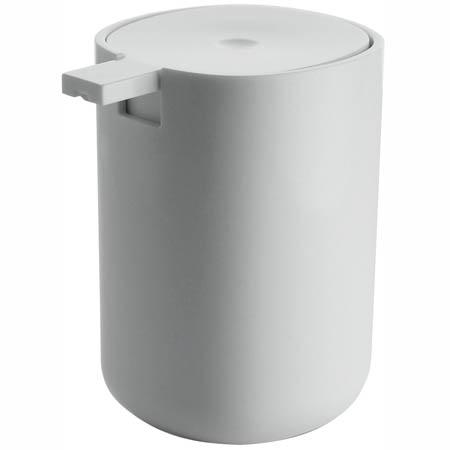alessi oz birillo liquid soap dispenser push pump