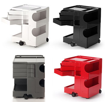 Joe colombo boby storage modern design by for Joe colombo boby