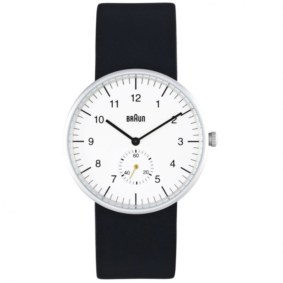 Braun Bn 24whg Men S Analog Wrist Watch White Face
