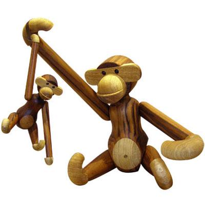 Kay Bojesen Large Wooden Monkey Nova68 Com