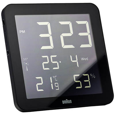 Braun Digital Wall Clock Nova68 Com