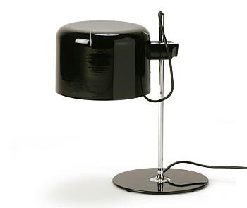 Joe Colombo Oluce Coupe 2202 Table Lamp Black Nova68 Com