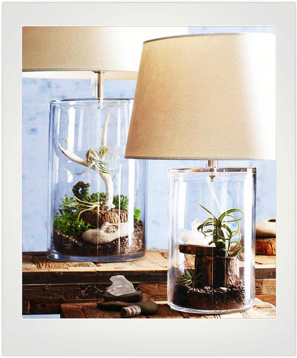 Classic Terrarium Glass Table Lamp Nova68 Com