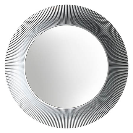 Lucite Round Bathroom Mirror