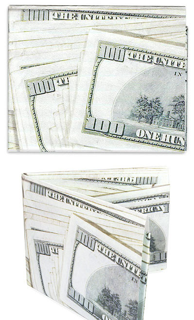 Terrence Kelleman Hundred Dollar Bill Wallet Nova68 Com