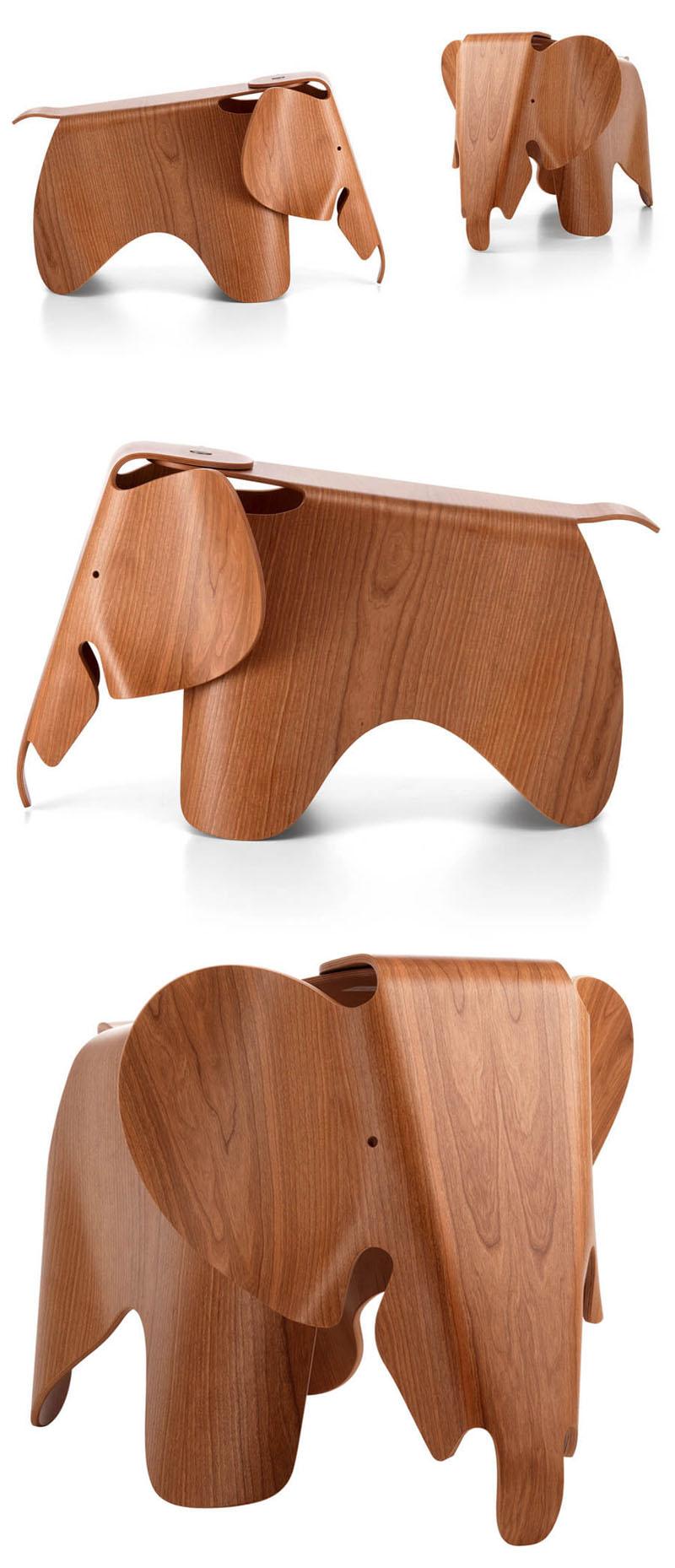 Eames 174 Elephant Plywood Nova68 Com