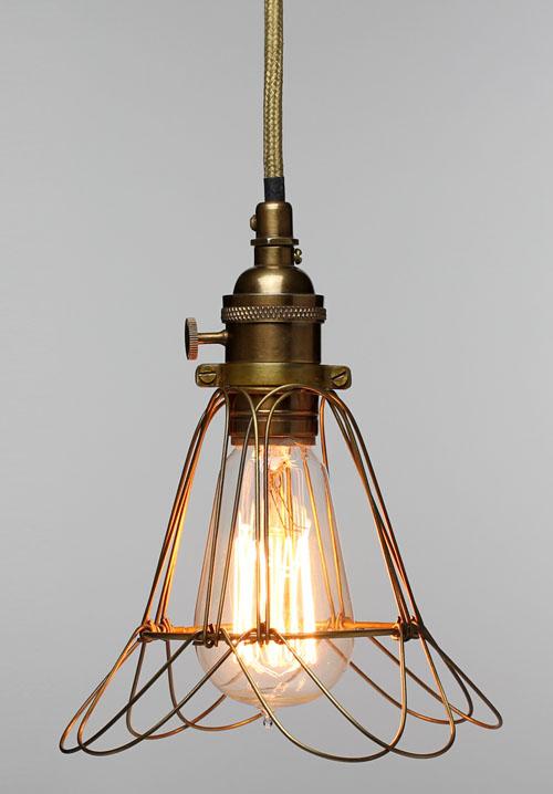Industrial Edison Workshop Cage Lamp Medium