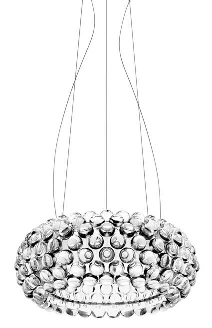 Caboche sspension light caboche chandelier foscarini for Caboche foscarini