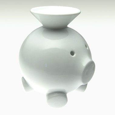 Scott henderson coink porcelain piggy bank nova68 modern design - Coink piggy bank ...