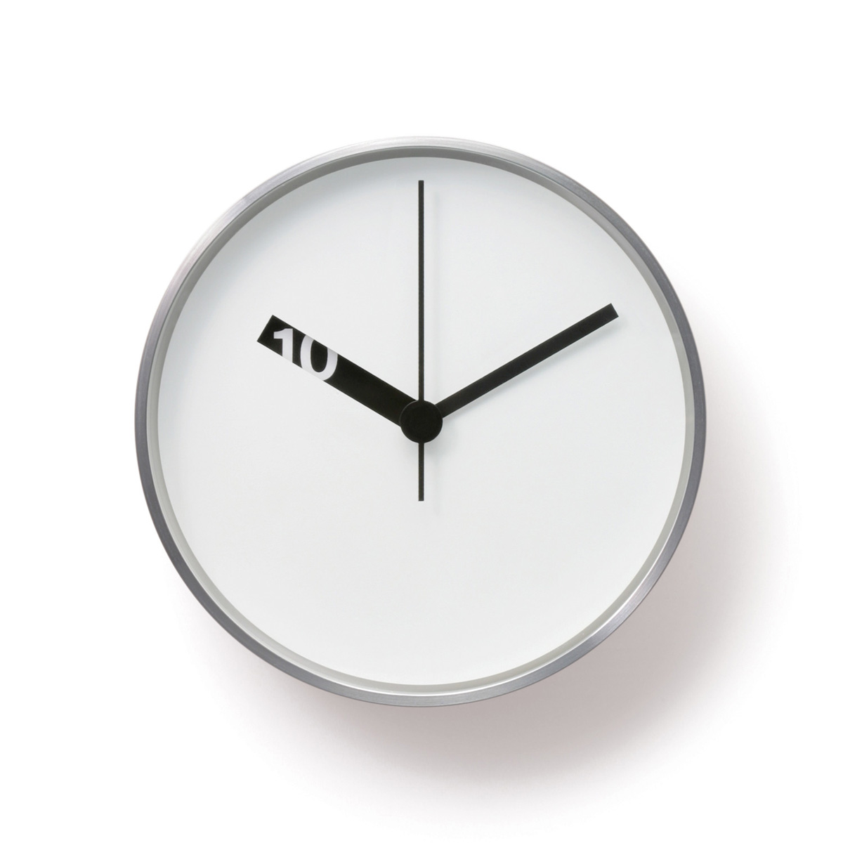 Ross Mcbride Extra Normal Wall Clock White Nova68