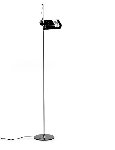 Joe Colombo Oluce Spider 3319 Floor Lamp Black Nova68 Com
