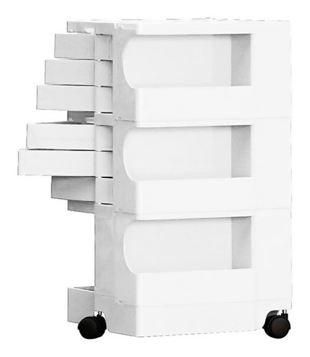 Boby Rolling Art Taboret And Supply Storage Cart On Wheels 3 6