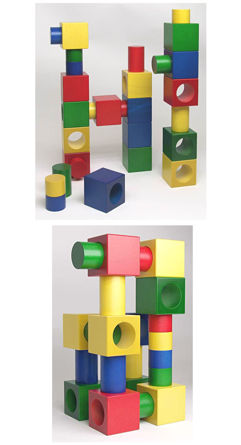 Naef Ligno Wooden Toy Building Blocks And Shapes Nova68 Com