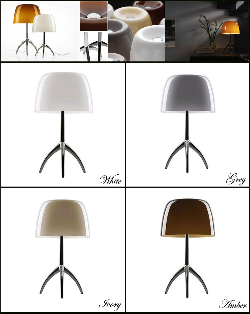 Foscarini Rodolfo Dordoni Lumiere Tavolo Table Lamp