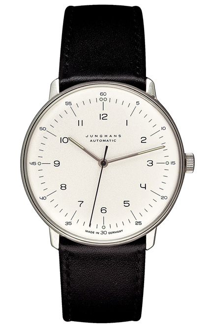 Junghans Watches: Max Bill Automatic Men's Watch with Numbers Model 3500