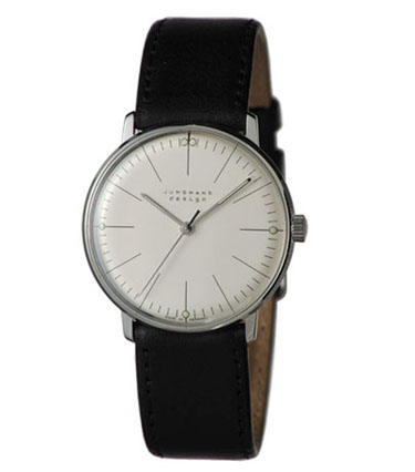 Junghans Watches: Max Bill Mechanical Men's Watch Model 3700