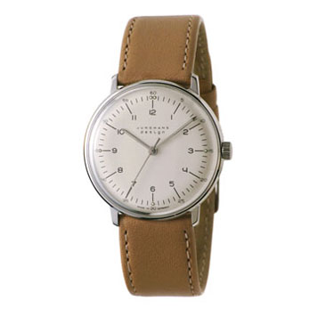 Junghans Watches: Max Bill Mechanical Men's Watch Model 3701