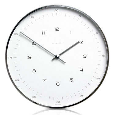 Delicieux Max Bill Modern Office Wall Clock With Numbers   Max Bill Clocks