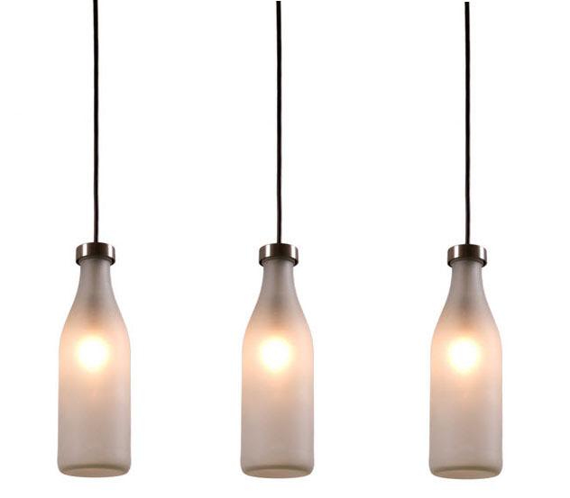Droog Design Tejo Remy Milkbottle Lamp Single Piece