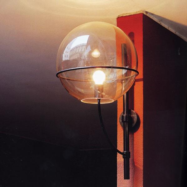 vico magistretti oluce lyndon 160 outdoor wall light nova68 com