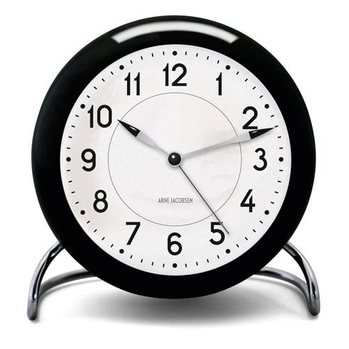 Arne Jacobsen Station Table Clock With Alarm Nova68 Com