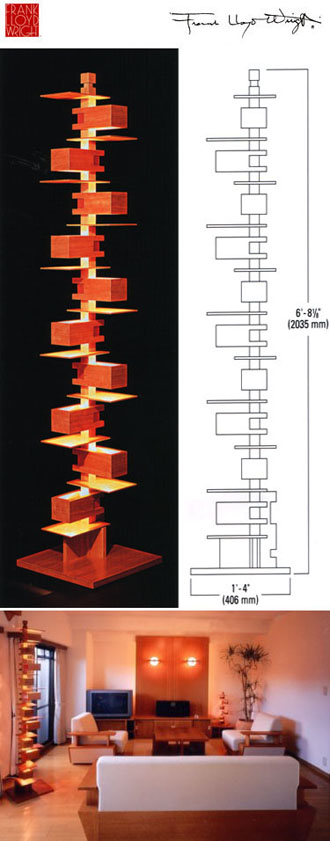 Frank Lloyd Wright Lamp Plans