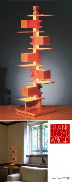 Yamagiwa: Frank Lloyd Wright Taliesin 3 table lamp: NOVA68.com
