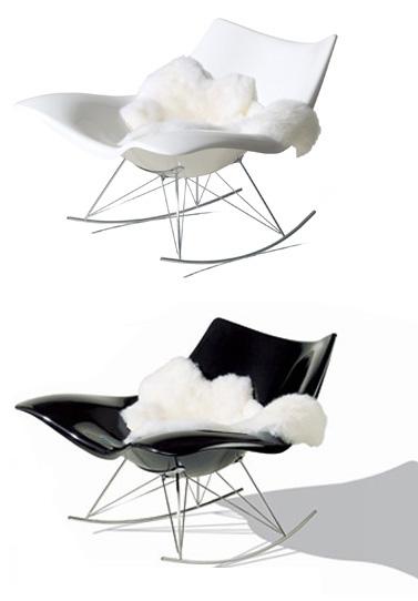 Thomas Pedersen: Stingray Rocking Chair: NOVA68.COM MODERN DESIGN
