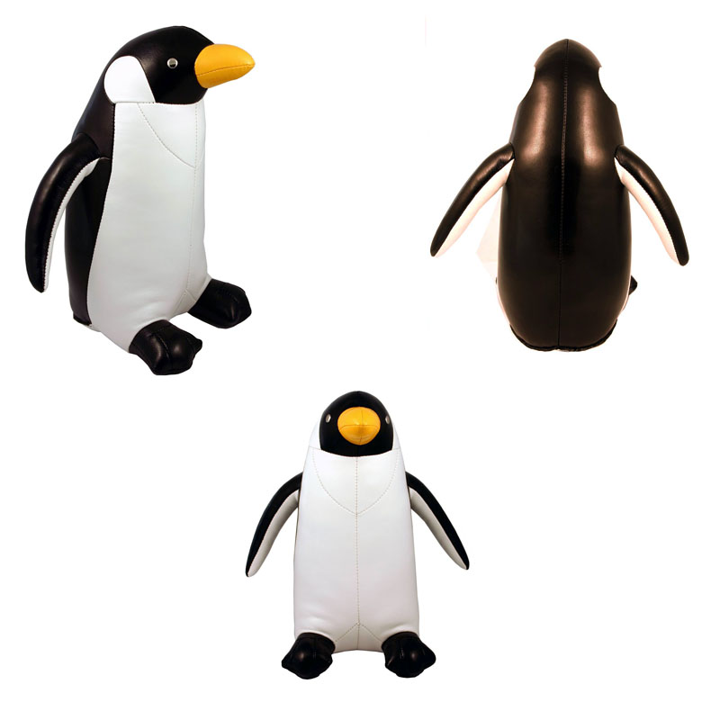 PENGUIN Fun Animal Shape Penguin Bookend   Penguin Bookend Click To View  Additional Images