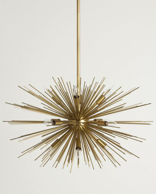 Astra Chandelier Sputnik Fillament Light Fixture Nova68 Com