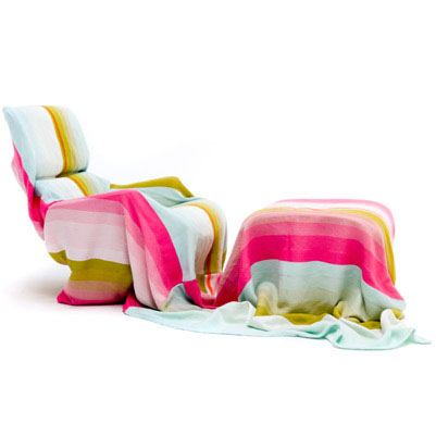 Scholten & Baijings: t.e. 22 Luxury Throw/Blanket: nova68 modern contemporary furniture design and lighting :  wool hot pink living blanket