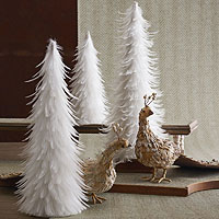 white christmas decorations white theme decorating ideas - White Christmas Decorating Theme