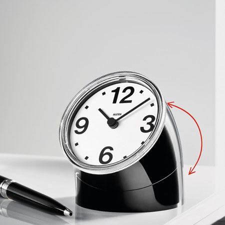 Cronotime Clock Alessi Cronotime Desk Clock By Pio