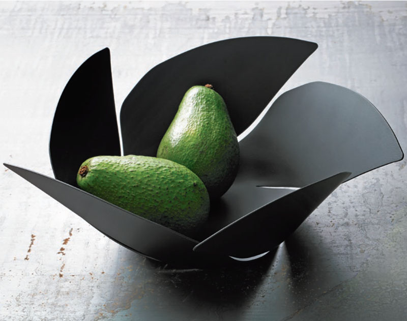 Alessi twist again steel fruit bowl stainless steel fruit basket nova68 modern design - Alessi fruit bowl ...