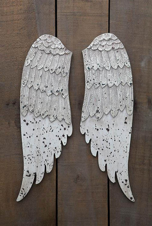 Wall Mounted Angel Wings Holiday Wall Decoration Nova68 Com