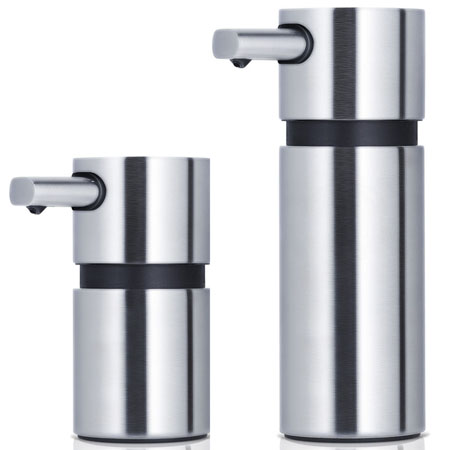 Bathroom Accessories AREO Soap Dispenser Stainless NOVAcom - Brushed stainless steel bathroom accessories